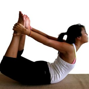 Bow Pose Yoga