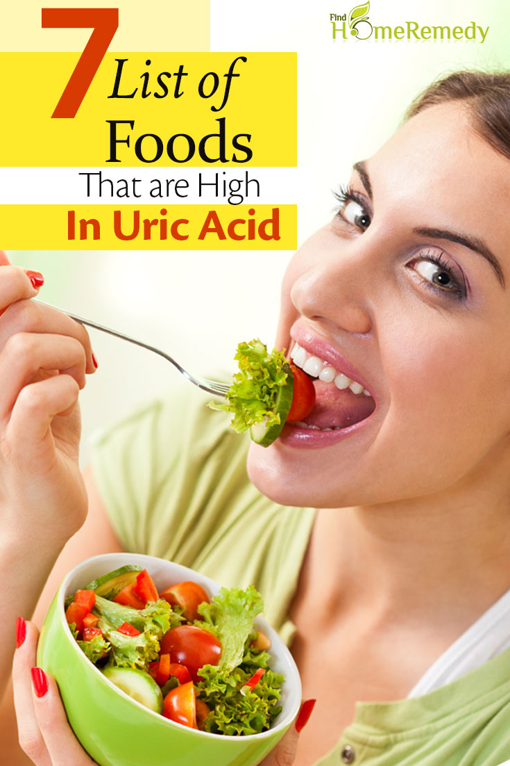 List Of Foods That Are High In Uric Acid
