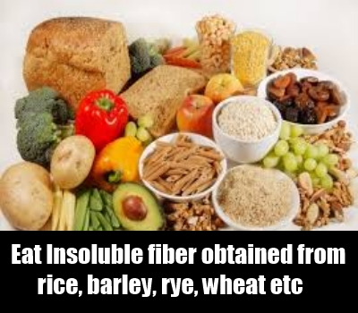 Food Rich With Insoluble Fiber