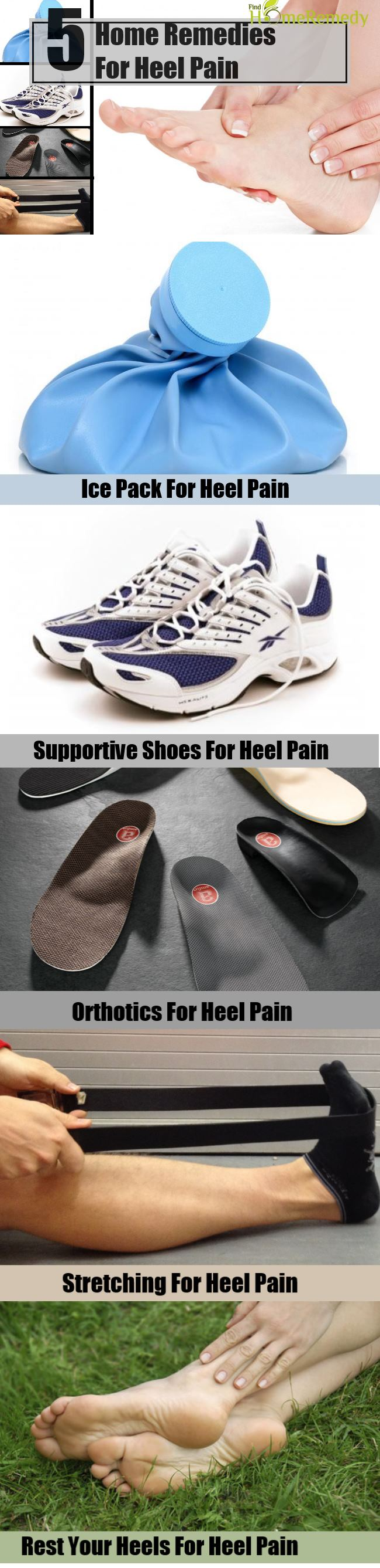 5 Home Remedies For Heel Pain