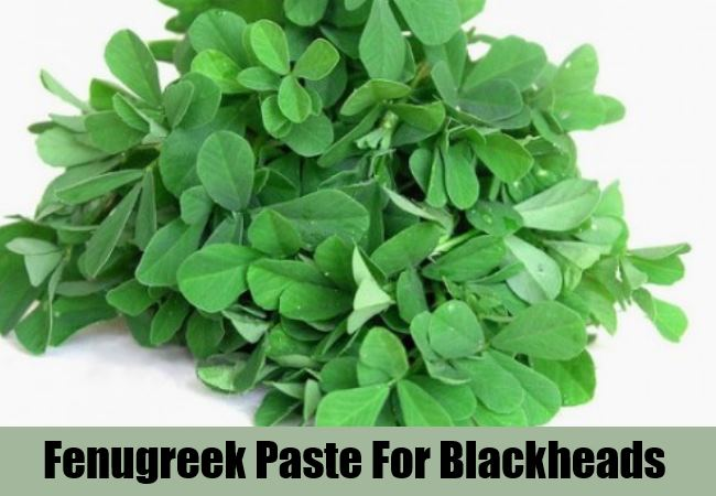 Fenugreek Paste