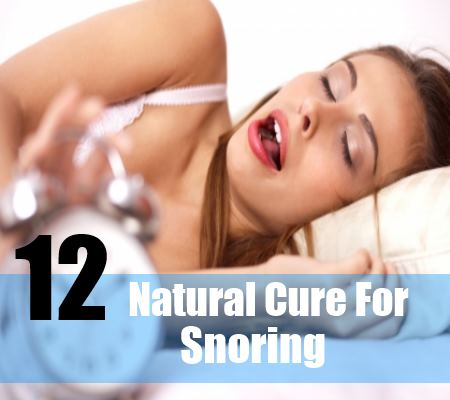 12 Natural Cure For Snoring