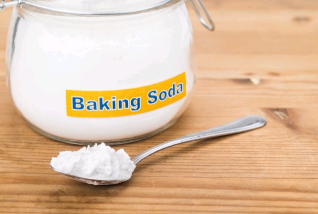 By Using Baking Soda