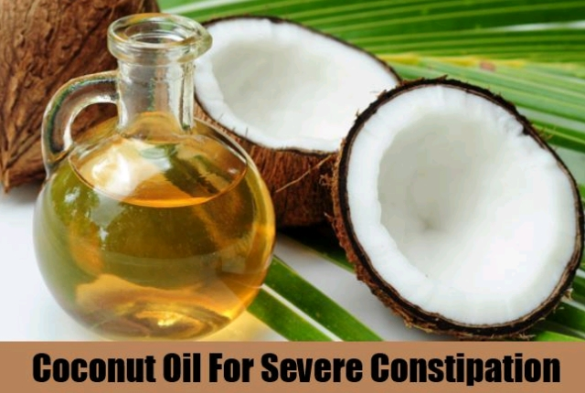 Coconut Oil And Flax Seeds