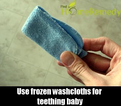 Frozen Washcloth