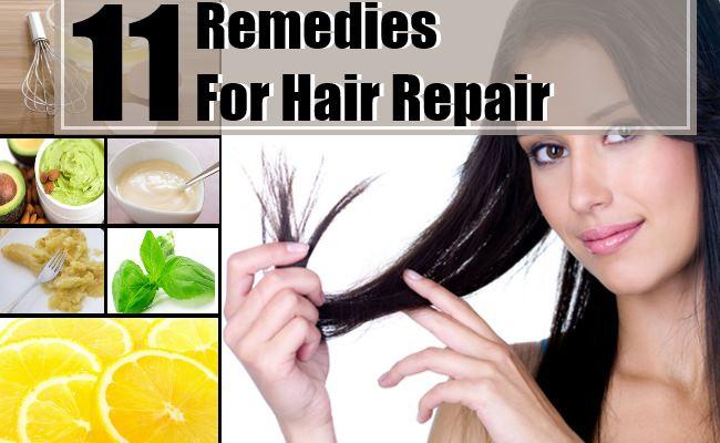 Remedies For Hair Repair