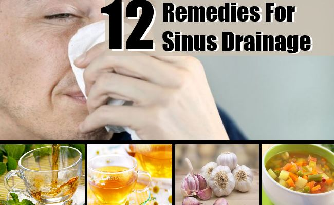 Remedies For Sinus Drainage
