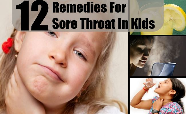 Sore Throat In Kids