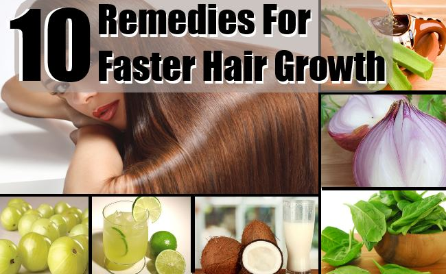 Faster Hair Growth