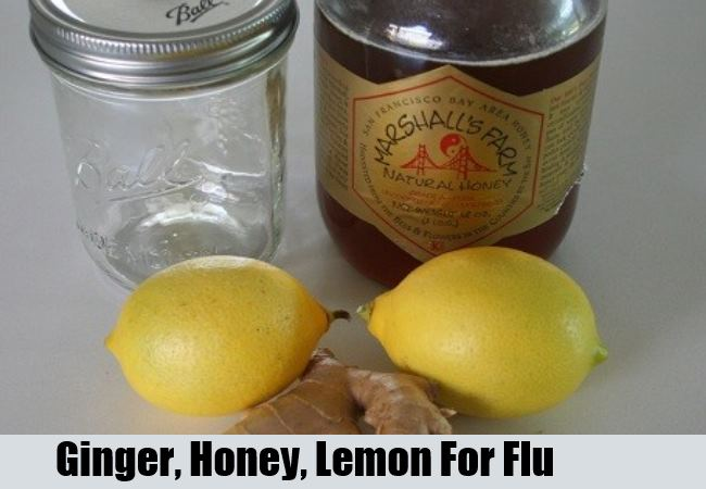 Ginger Honey Lemon