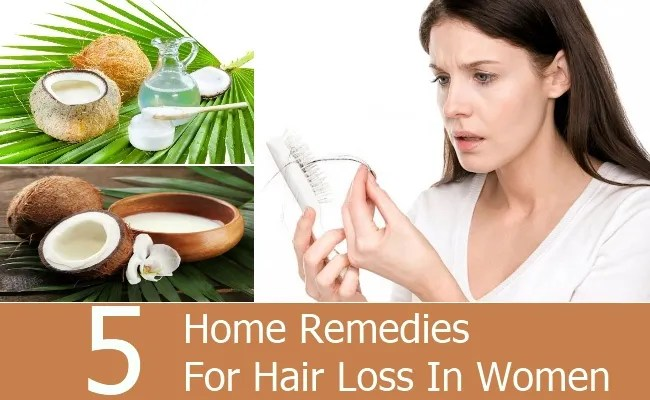 Home Remedies For Hair Loss In Women