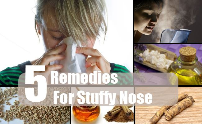 Remedies For Stuffy Nose
