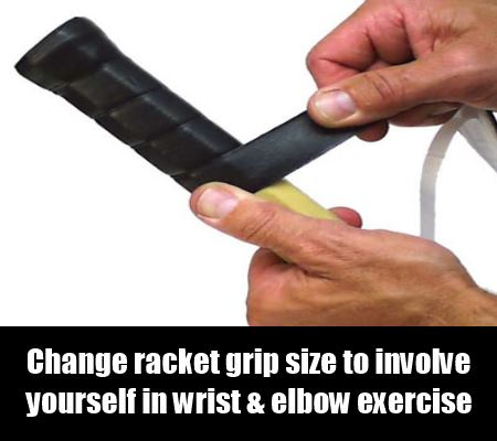 Change of Racket Grip