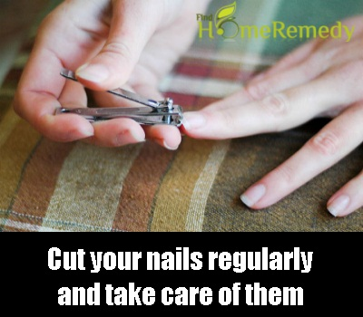 Cut your nails