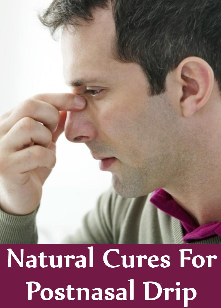 5 Natural Cures For Postnasal Drip