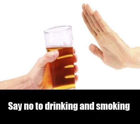 No to drink