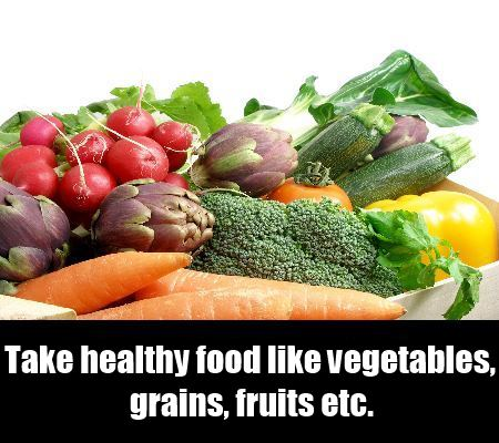 Take Healthy Food