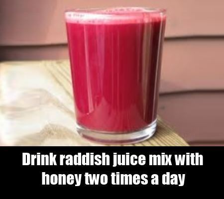 raddish juice