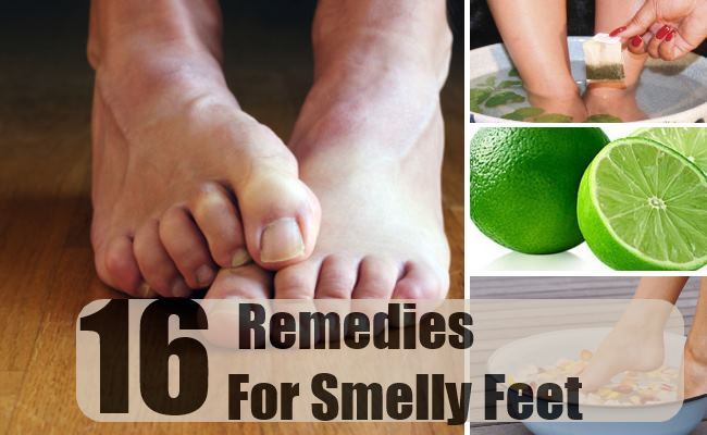 Remedies For Smelly Feet