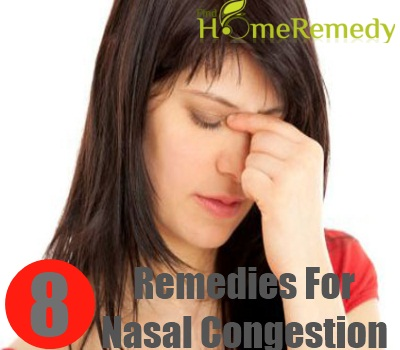 8 Home Remedies For Nasal Congestion Natural Treatments