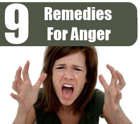 Remedies For Anger