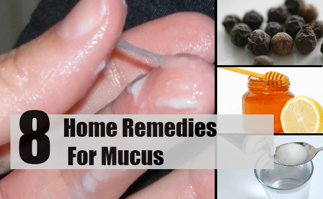 Remedies For Mucus