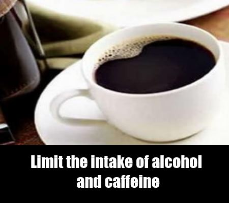 alcohol and coffee