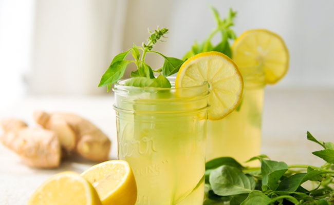 Ginger, Lime and Mint
