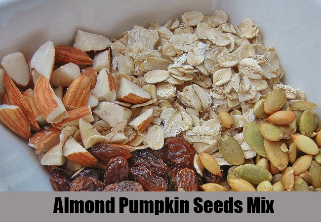 Almond Pumpkin Seeds Mix