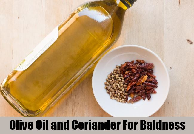 Olive Oil and Coriander