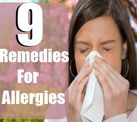 Remedies For Allergies