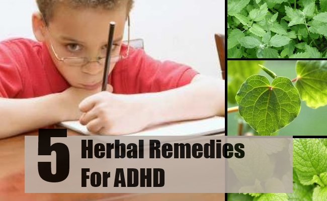 Herbs for attention deficit