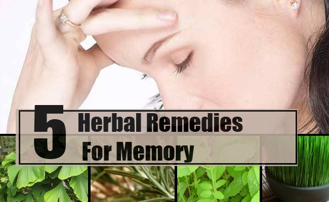 Remedies For Memory