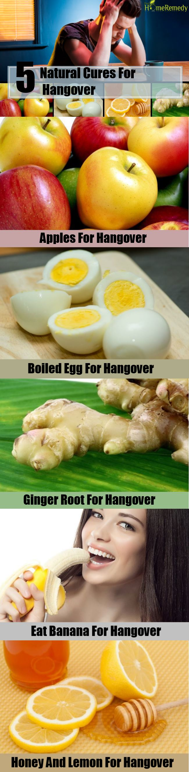 5 Natural Cures For Hangover