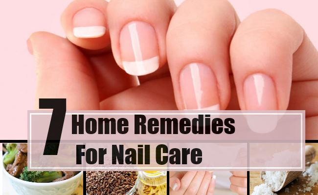 7 Effective Home Remedies For Nail Care - Natural Treatments & Cure ...