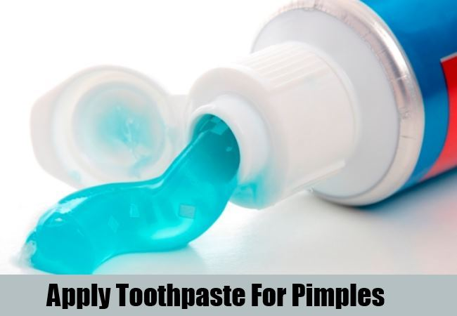 Apply Toothpaste