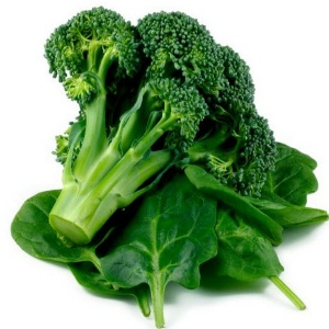 Spinach And Broccoli