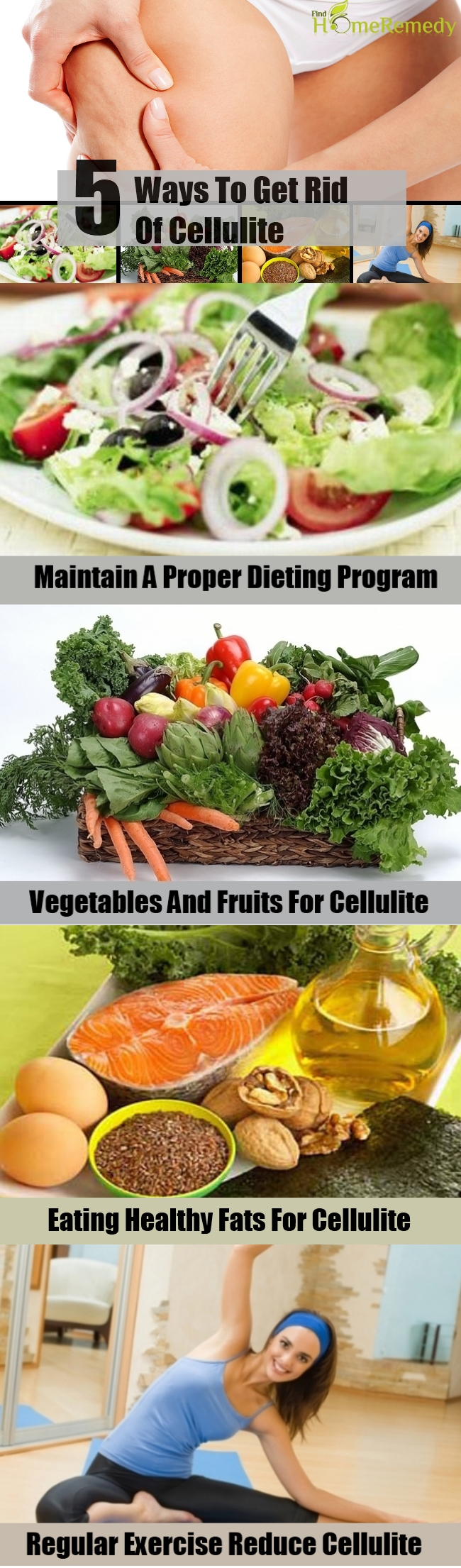 5 Ways To Get Rid Of Cellulite