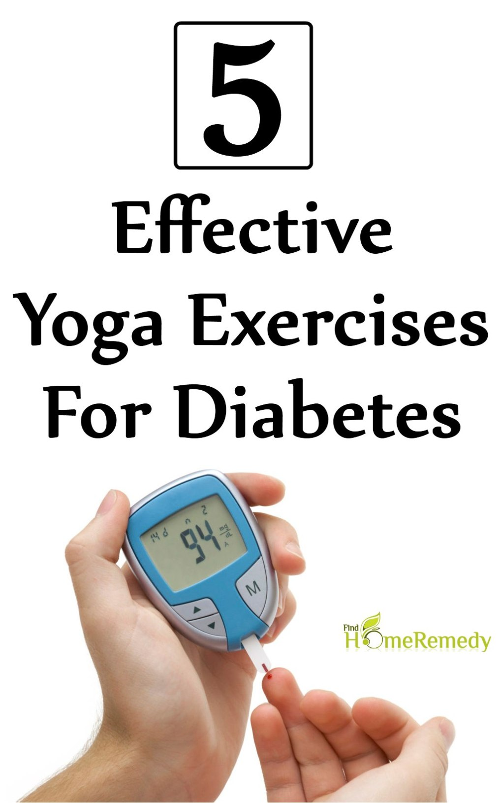 5 Effective Yoga Exercises For Diabetes