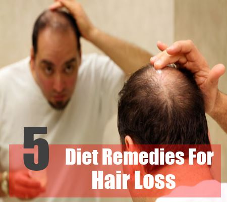 5 Simple Diet Remedies For Hair Loss