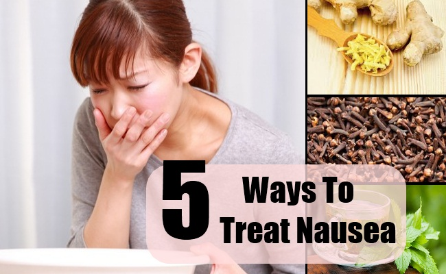 how to soothe nausea and vomiting