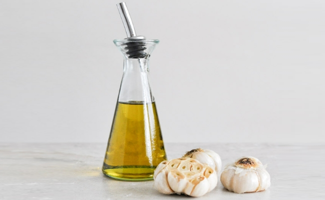 Warm Garlic Oil