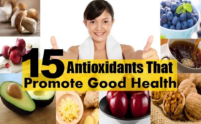 good health antioxidants