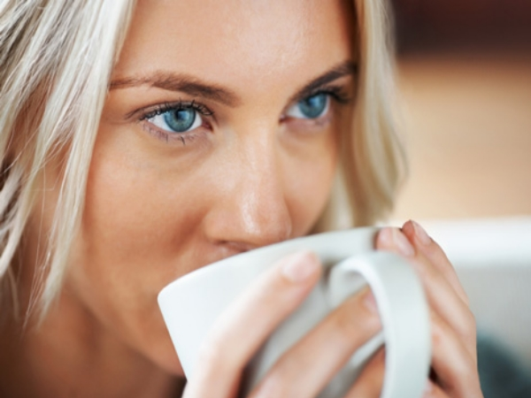 Avoid caffeine in the evening
