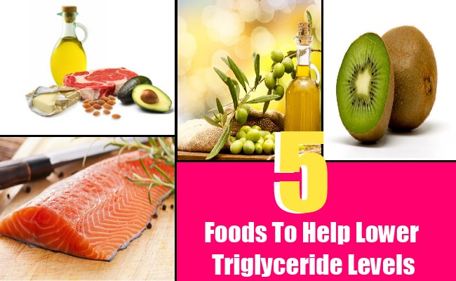 5 Foods To Help Lower Triglyceride Levels