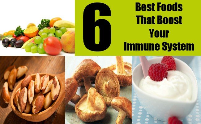 6 Best Foods That Boost Your Immune System
