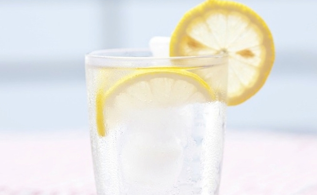 Drink a Mixture of Lemon And Water