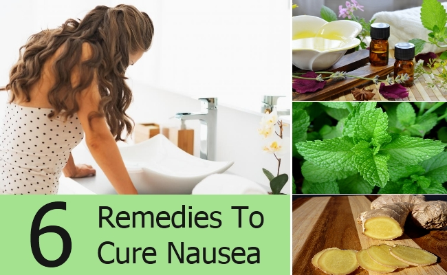 Remedies To Cure Nausea