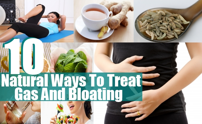 Treat Gas And Bloating