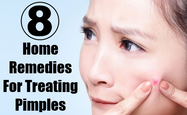 Home Remedies For Treating Pimples